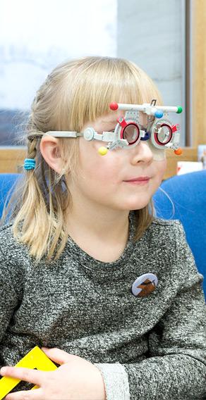 Oční vyšetření dětí